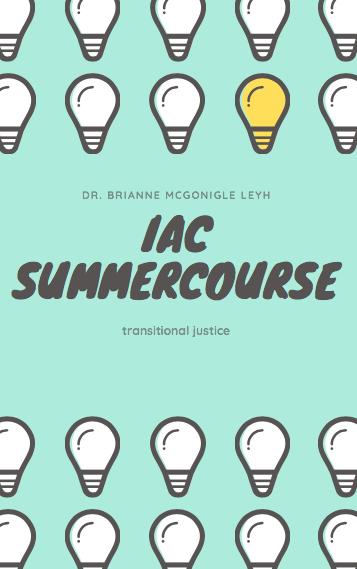 IAC Summercourse